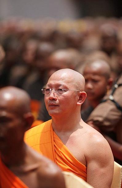Monk Friar Meditate Contemplate Buddhist Asia Trad