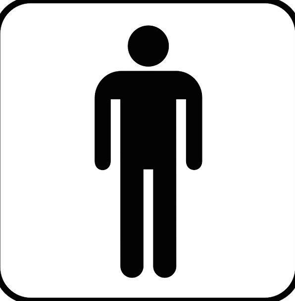 Toilet Lavatory Menfolk Man Gentleman Men Human Hu