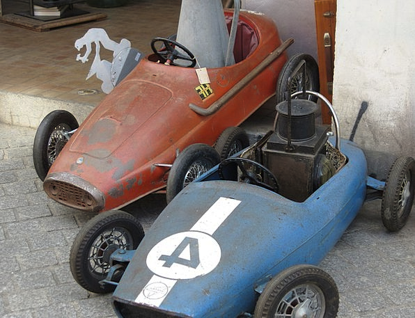 Toys Dolls Second Hand Pedal Car Old Ancient Cars