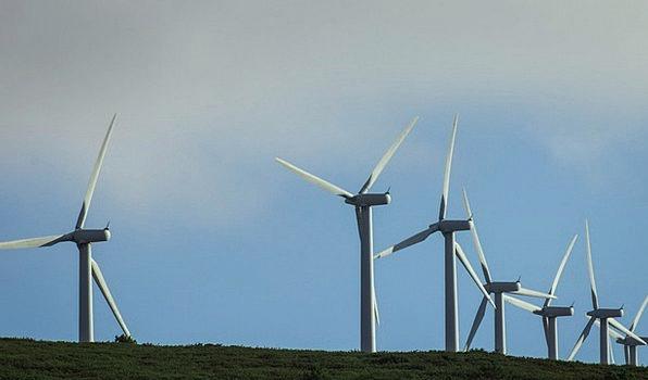 Wind Farm Grinder Windmills Mill Power Generation