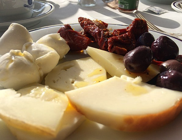 Cheese Drink Food Sun Dried Tomatoes Italy Fresh D