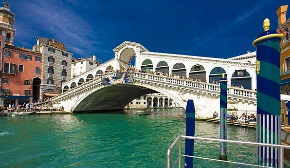 Italy Rialto Bridge Venice
