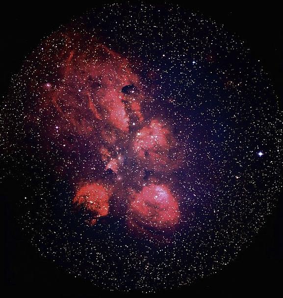 Ngc 6334 Congregation Cat Pfote Fog Galaxy All Bea