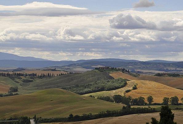 Tuscany Landscapes Nature Landscape Scenery Italy