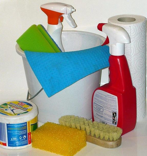 Clean Spotless Cleaning Material Make Clean Frühja