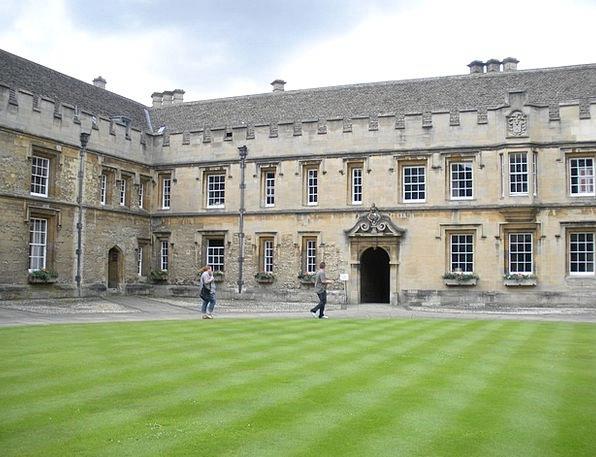 Oxford College Buildings Architecture England Chri