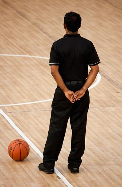 Referee Arbitrator Game Willing Basketball Play Pr