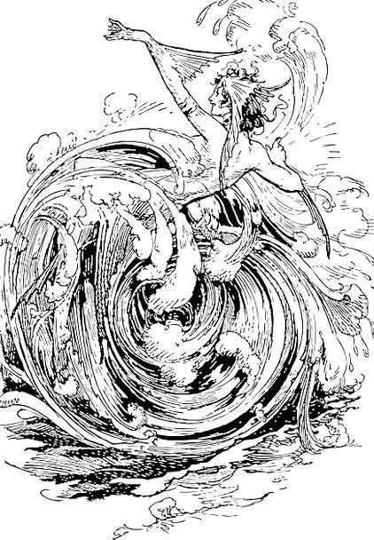 Sea Marine Twirl Whirlpool Eddy Swirl Rotation Rev