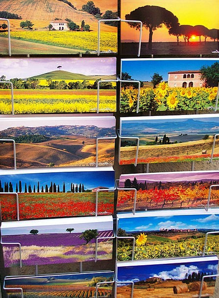 Post Pole Cards Italy Postcards Memory Reminiscenc