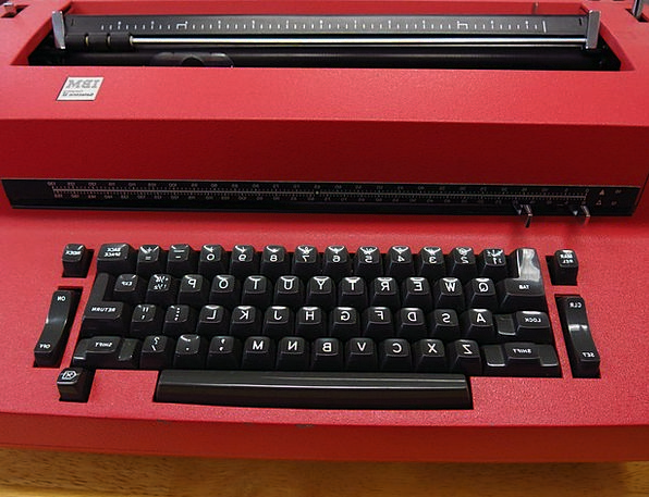 Typewriter Finance Electronic Business Business Co