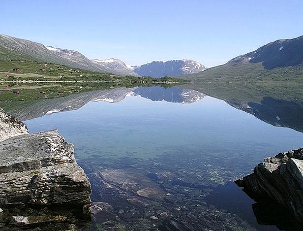 Breiddalsvatnet Freshwater Norway Lake
