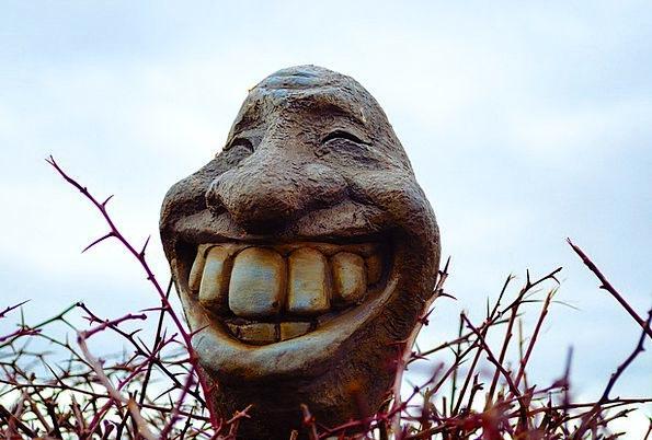 Smile Beam Fun Head Skull Laugh Decorations Stream