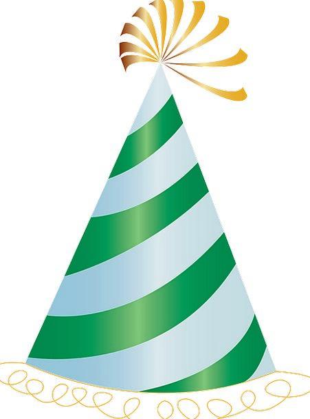 Party Hat Festivity Birthday Birthdate Celebration