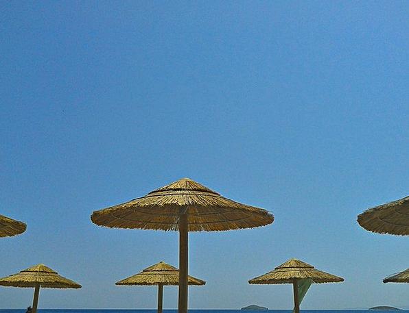 Beach Seashore Vacation Travel Greek Islands Andro