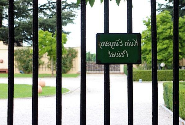 Barrier Safety Note Letter Security Shut Off Shiel