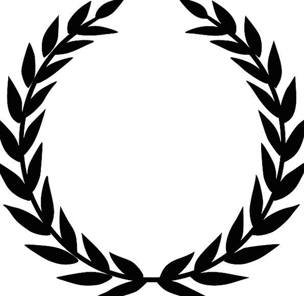 Laurel Wreath Tribute Winner Victor Accolade Olive