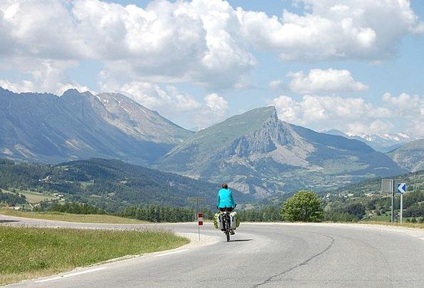 Bike Motorbike Vacation Portable Travel Dévoluy Tr