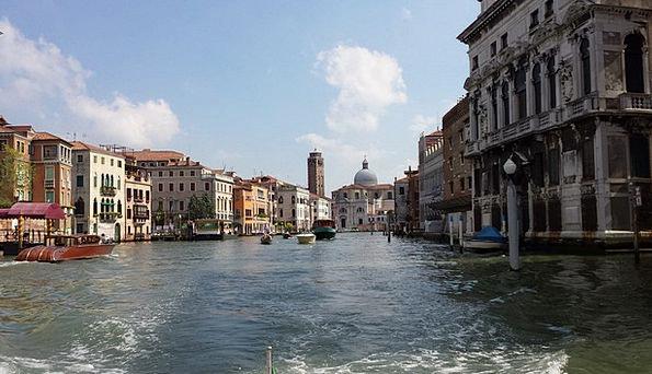 Venice Europe Italy Water Aquatic