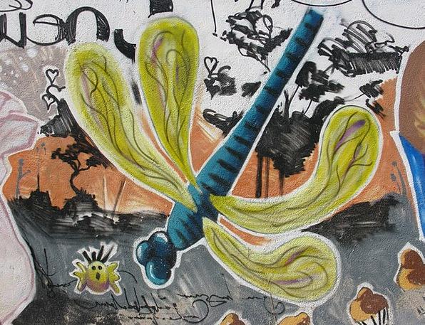 Graffiti Drawings Interesting Hauswand Colorful Ar