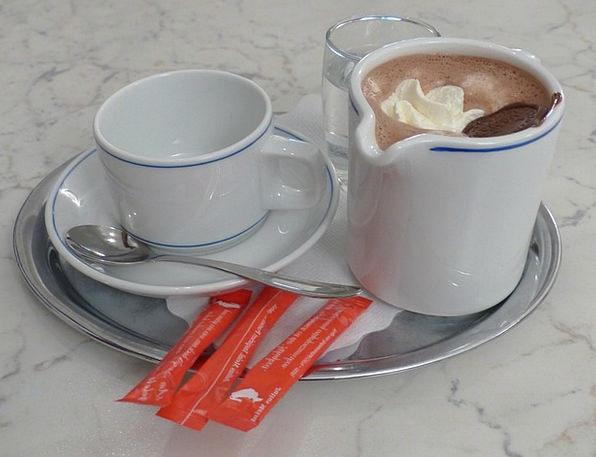 Hot Chocolate Drink Beverage Food Kaffeekaennchen