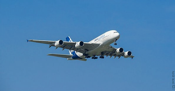 Passenger Aircraft Airbus Flugshow A380 Patrol Sui
