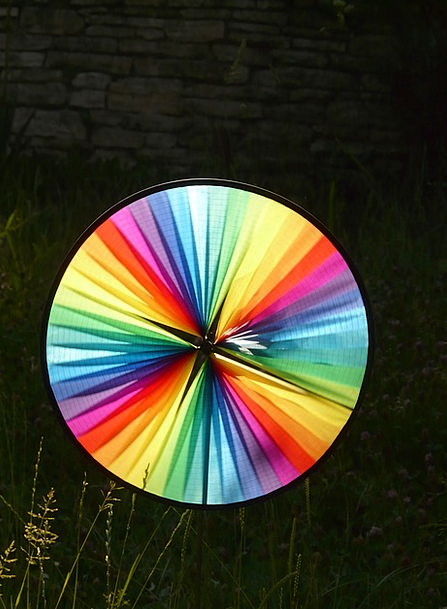 Pinwheel Rocket Breeze Colorful Interesting Wind C