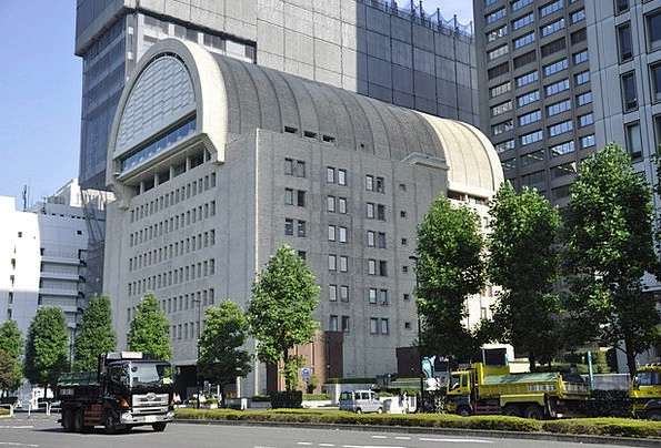 Japan High-Rise Building Tokyo