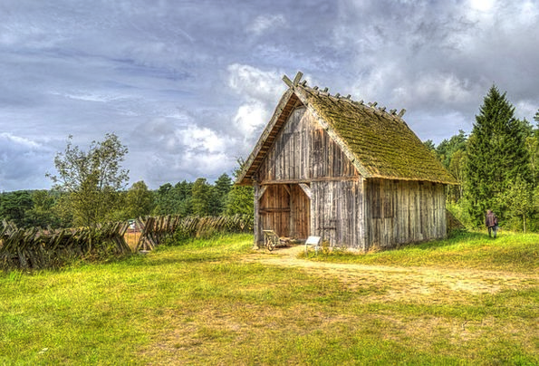 Barn Outbuilding Landscapes Nature Nature Countrys