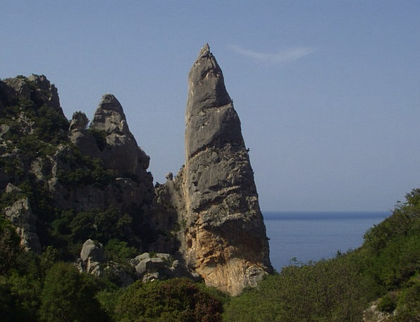 Cala Goloritze Climb Hike Sardinia Pinnacle Highpo