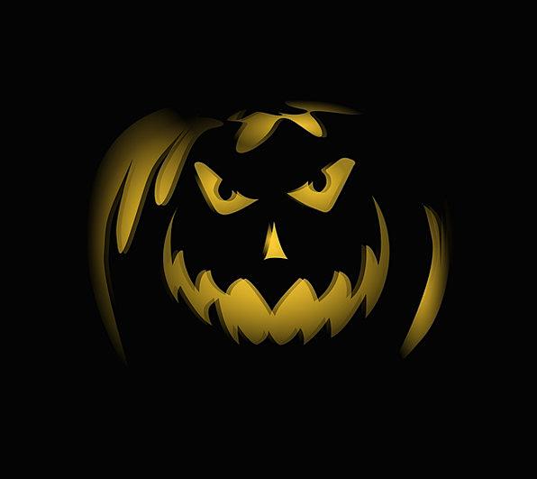 Halloween Jack O Lantern Pumpkin Autumn Spooky Sca