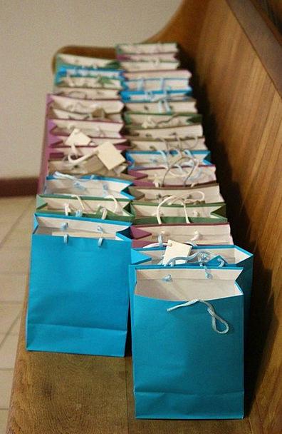 Bags Belongings Handouts Colorful Interesting Gift