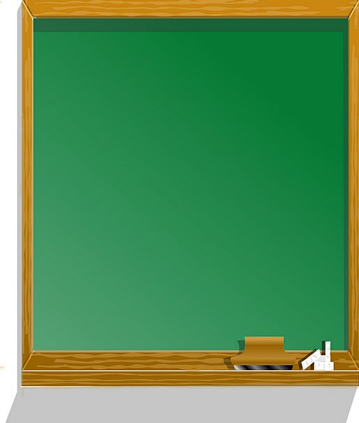 Blackboard Education Teaching Chalkboard Free Vect