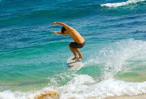Surfer Vacation Surfs Travel Hawaii Waves Surfboar