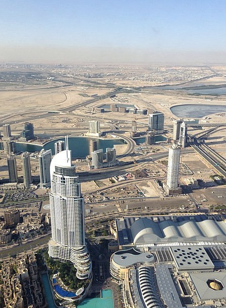 Dubai Buildings Architecture City Urban Burj Kalif