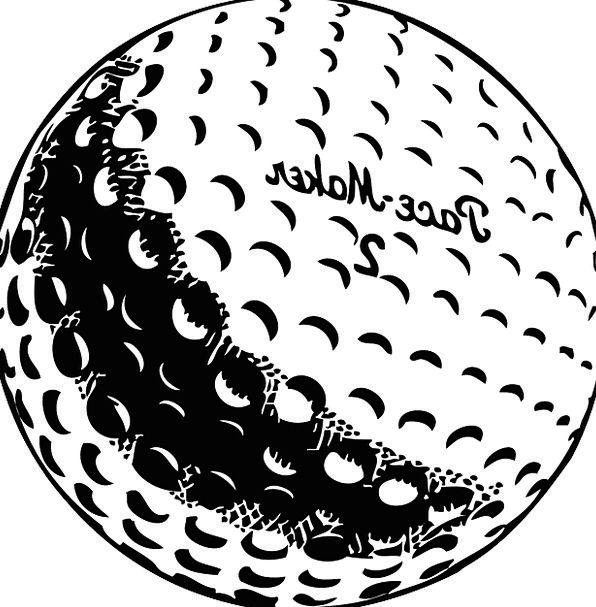 Golf Sphere White Snowy Ball Tee Recreation Regene