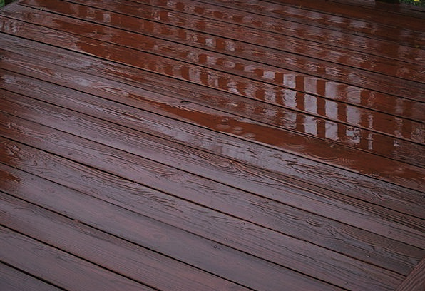 Deck Level Timber Rain Volley Wooden Water Aquatic
