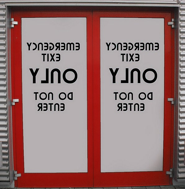 Emergency Exit Production Door Entrance Output Clo