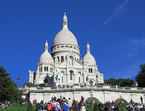 Sacré Coeur Cathedral Paris Church Ecclesiastical
