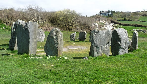 Ireland Stone Ring Stone Circle Stones Gravels Mys