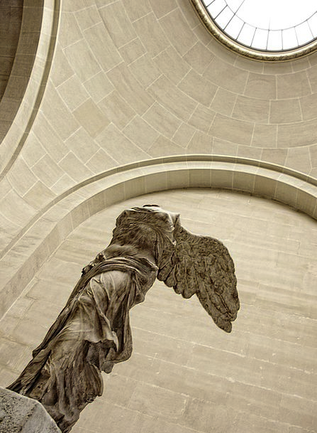 Nike Paris Louvre France Museum Art Statue Gallery