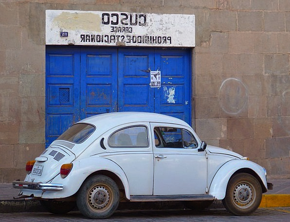 Vw Beetle Traffic Car Transportation Old Ancient A