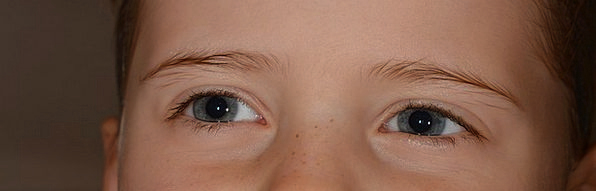 Child Youngster Lassie Eyes Judgments Girl Face Ex