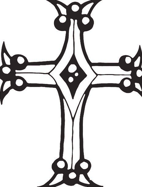 Cross Irritated Religion Christian Crucifixion Sha