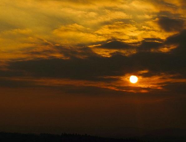 Sun Vacation Travel Sunset Sundown West Evening Or