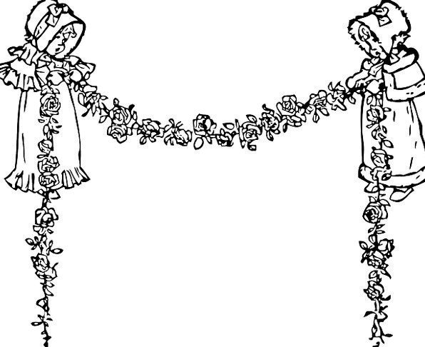 Swag Curtain Wreath Floral Garland Garland Garland