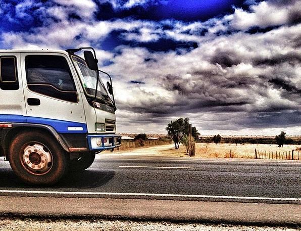 Truck Traffic Portable Transportation Lorry Travel