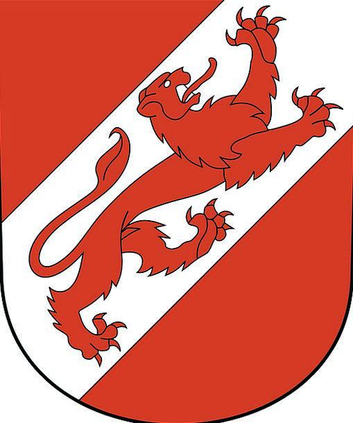 Coat Of Arms Crest Top Pfäffikon Helmet Plate Embl