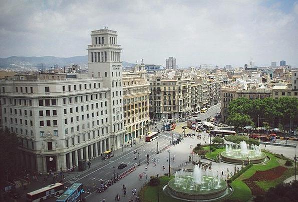 Barcelona Buildings Architecture City Urban Spain