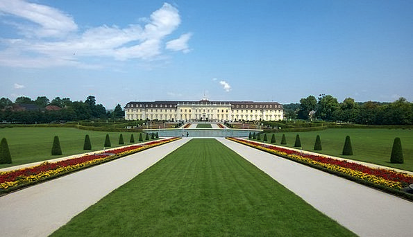Castle Fortress Park Common Ludwigsburg Germany