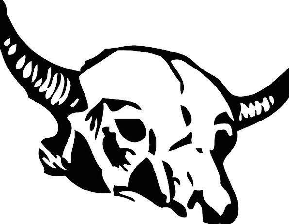 Skull Mind Frames Dead Deceased Bones Symbol Head